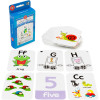 EDVANTAGE FLASHCARDS Alphabet and Numbers 1 10