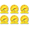 LEARNING CAN BE FUN Student Clocks Set 6