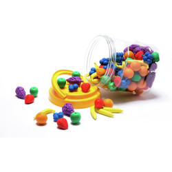 LEARNING CAN BE FUN Fruit Counters Jar 60
