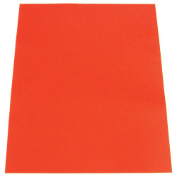 COLOURFUL CARDBOARD COLOURS A3 SCARLET pk 50 200gsm