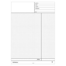 DEBDEN CONTRACTOR PLUS COMPENDIUM A4 REFILL QUOTATION NCR PAD PACK OF 2