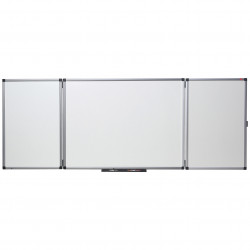 NOBO CONFIDENTIAL WHITEBOARD NON-MAGNETIC 1200x900mm closed