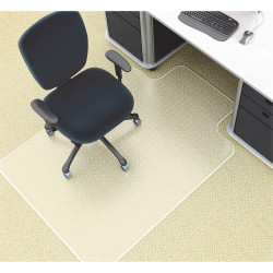CHAIR MAT SMALL FOR MEDIUM PILE CARPET DELUXE 910 x 1210