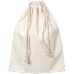 ZART CALICO LIBRARY BAG With Drawstring 37X42cm Beige Pack of 12